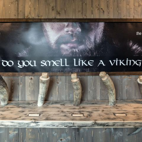 Do you smell like a viking exhibition at Aurora Spirit
