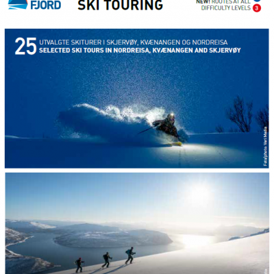 Frontpage, ski touring brochure